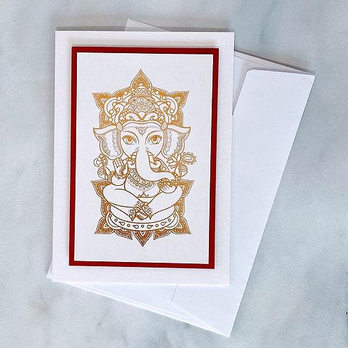 Ganesh Diwali Card