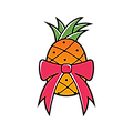 Logo without text for Pineapple Papers and Gifts