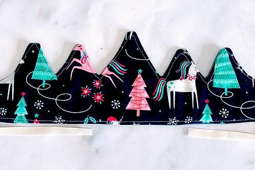 Reversible Christmas Crown