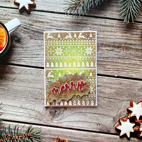Christmas Jumper Merry Card