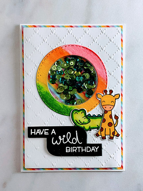 Happy Everything Shaker Card