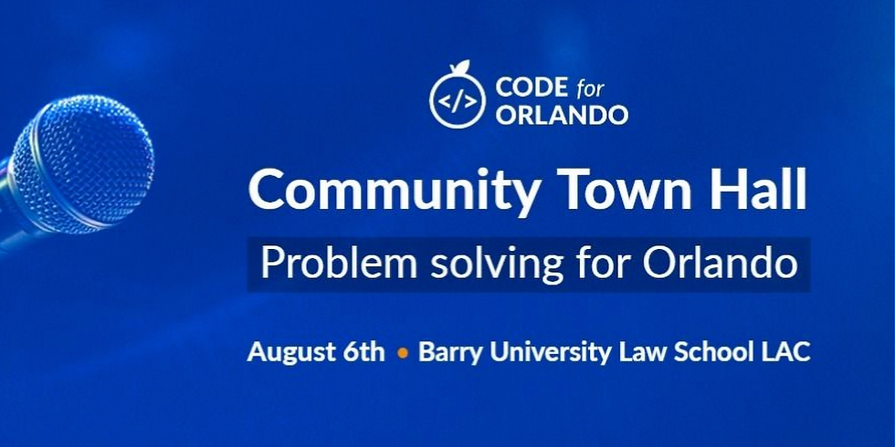 Code for Orlando Community Town Hall
