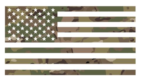 Camo Flag