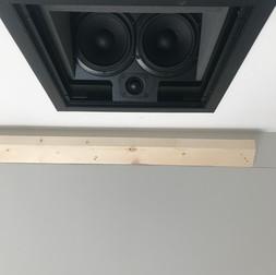 In-ceiling Bronze Triad