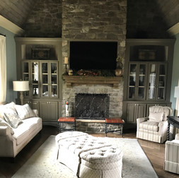 TV Install on Stone Fireplace