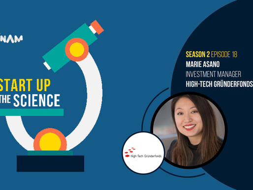Dr. Marie Asano on the Start Up the Science Podcast