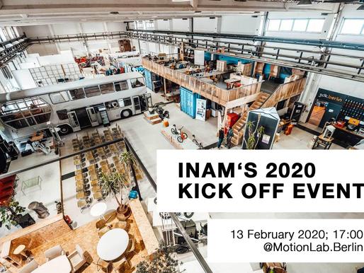 INAM's 2020 Kick Off Event