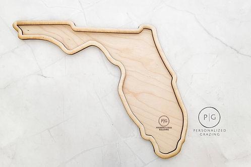 Florida State Charcuterie Board