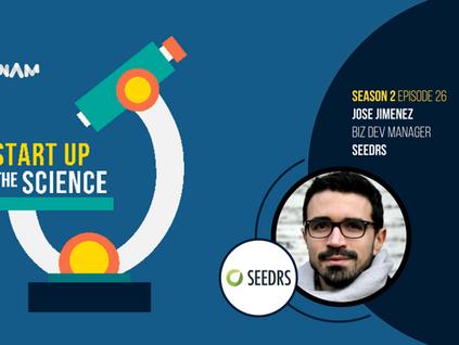 Jose Jimenez of SEEDRS on Start Up the Science Podcast