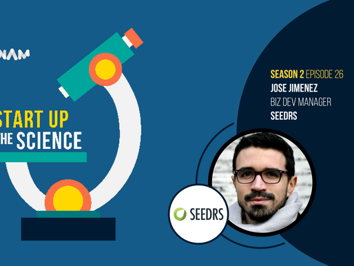 Jose Jimenez of SEEDRS on Start Up the Science Podcast