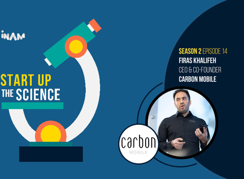 CEO of Carbon Mobile on Start Up the Science Podcast