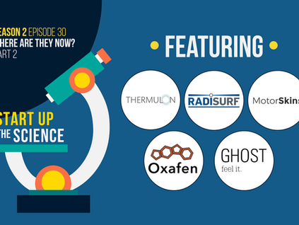Start Up the Science Podcast Features 5 Past Startup Guests on Newest Episode