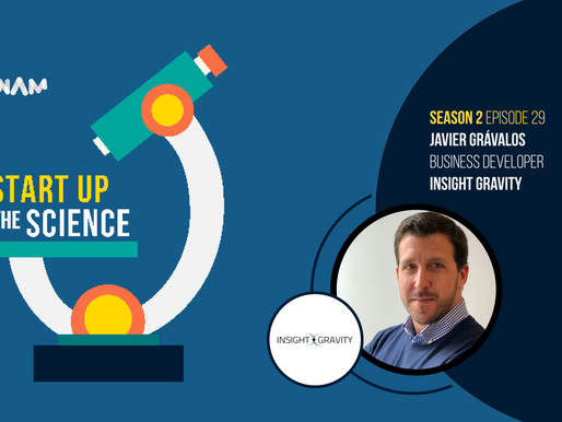 Commercial Validation Expert Javier Grávalos on Start Up the Science Podcast