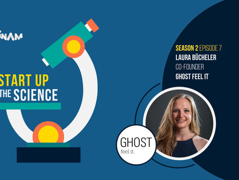Listen to Ghost - feel it. Founder on Start Up the Science