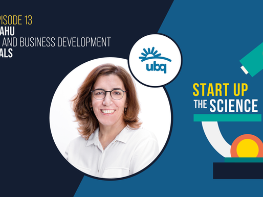 UBQ Materials on Start Up the Science Podcast