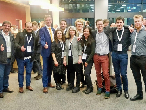 INAM at High-Tech Gründerfonds' Pitch Day and the European Chemistry Partnering Event in Frankfurt!