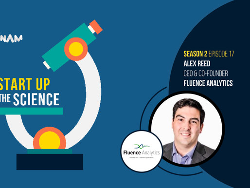 Fluence Analytics on Start Up the Science Podcast