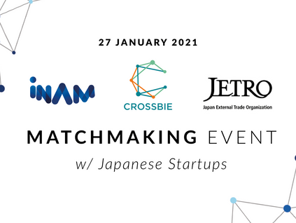 INAM, CROSSBIE and JETRO's Matchmaking Event with Japanese Startups and German Industry Partners