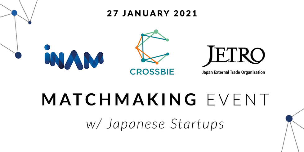 INAM, CROSSBIE & JETRO's Matchmaking Event