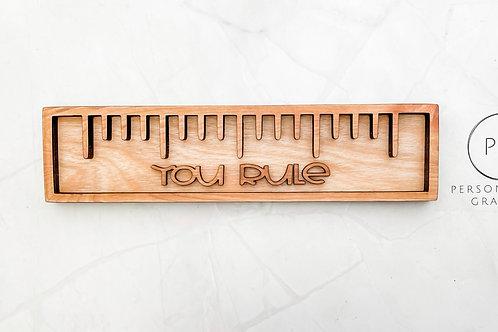 You Rule! Teachers Gift Charcuterie Board