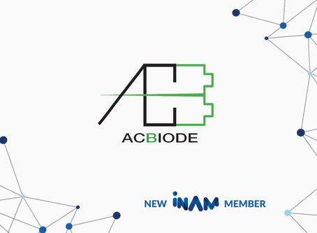 The Innovation Network for Advanced Materials (INAM e.V.) Welcomes AC Biode as a New Startup Member