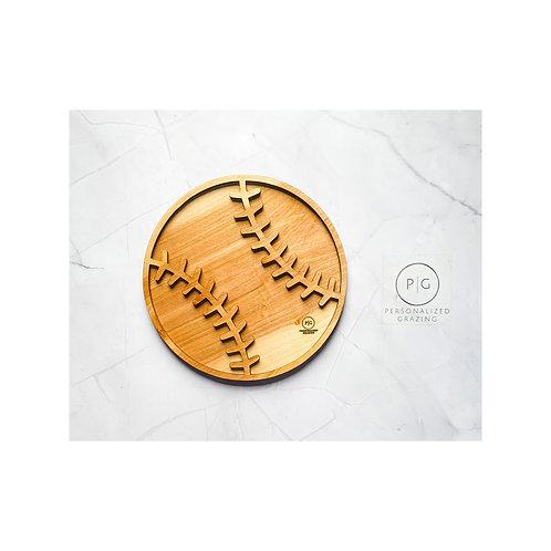 Baseball Sports Charcuterie Grazing Board