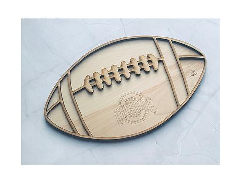 Football Sports Charcuterie Grazing Board