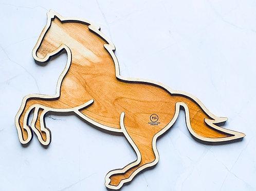 Quarter Horse Charcuterie Board