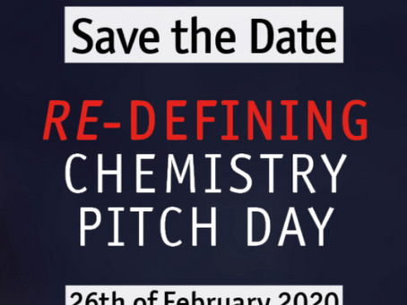 INAM at Chemistry Pitch Day & European Chemistry Partnering!
