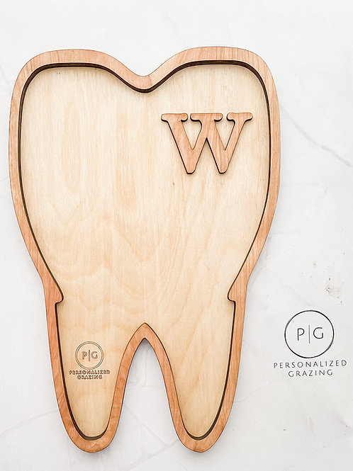 Tooth Shaped Charcuterie Board