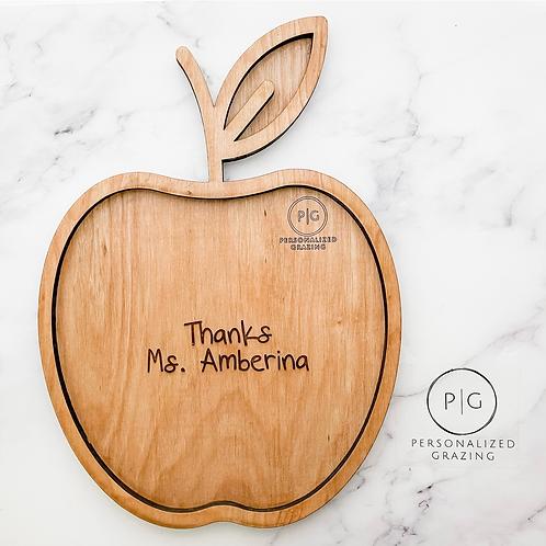 Apple (Great Teachers Gift!) Charcuterie Board