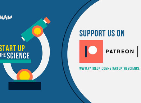 Start Up the Science Podcast on Patreon