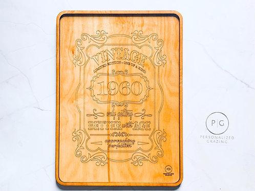 Vintage Birthday Board