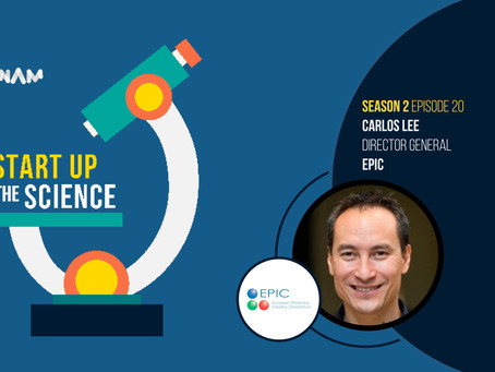 Carlos Lee, Director General of EPIC, on Start Up the Science Podcast