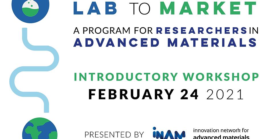 Lab to Market: Ideation Workshop