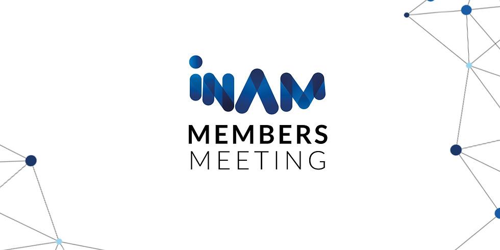INAM July 2021 Members Meeting