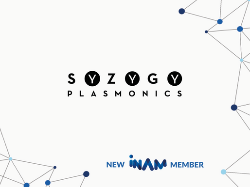 The Innovation Network for Advanced Materials Welcomes Syzygy Plasmonics as Startup Member