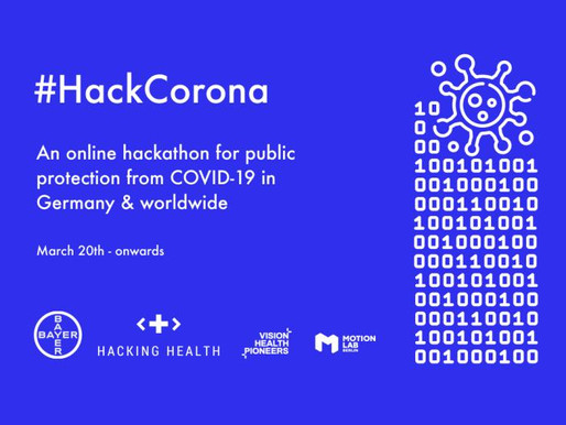 INAM Partnering with Data Natives' #HackCorona Hackathon