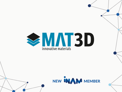 The Innovation Network for Advanced Materials Welcomes MAT3D as Startup Member