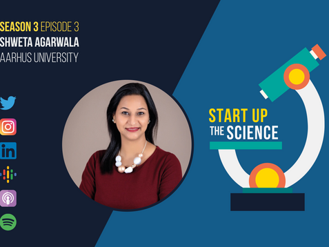 Printed Electronics Expert Shweta Agarwala on Start Up the Science Podcast