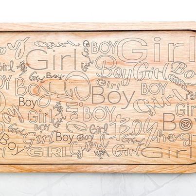 Gender Reveal Boards