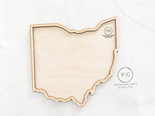 Ohio State Charcuterie Board