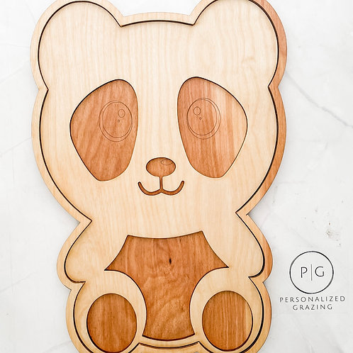 Panda Bear Charcuterie Board