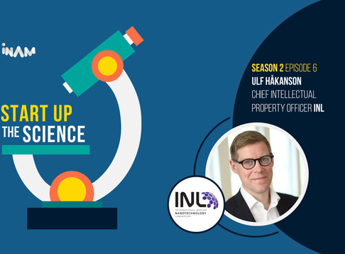 INL's Chief Intellectual Property Office on Start Up the Science Podcast!