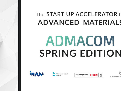 The 2021 Spring Edition of the Advanced Materials Competition Accelerator Announces Demo Day Winners