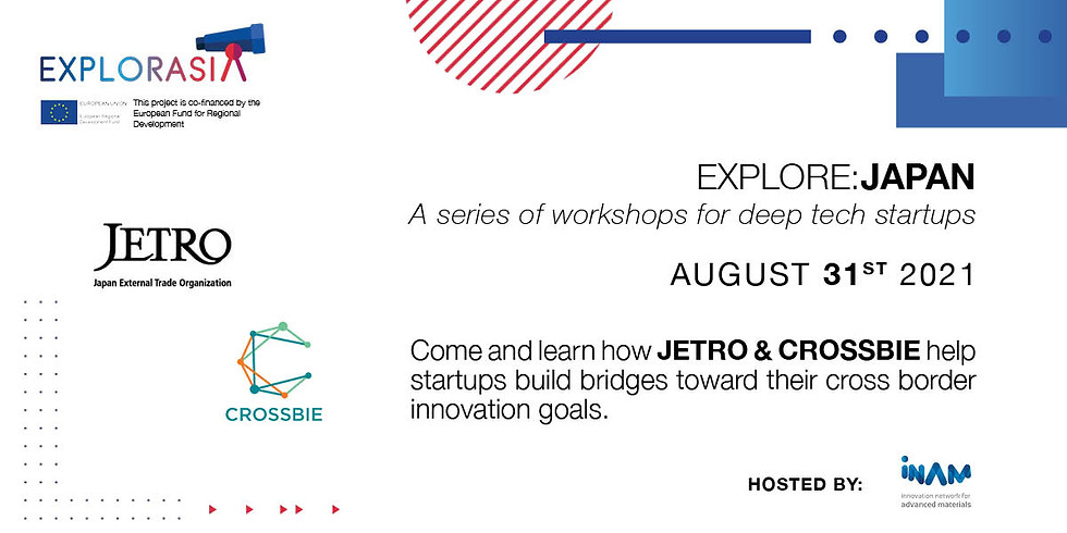 Explore:JAPAN with JETRO & CROSSBIE