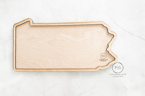 Pennsylvania State Charcuterie Board
