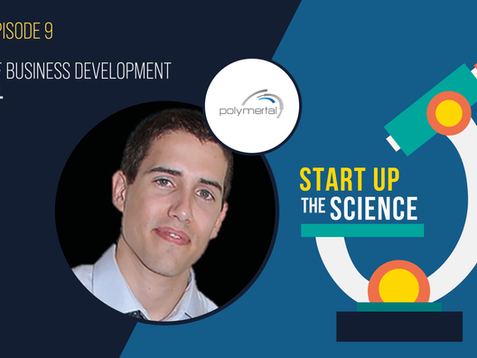 Catch Polymertal on the Start Up the Science Podcast