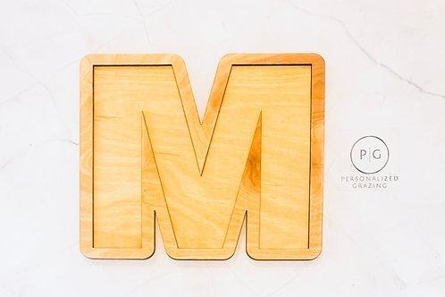 Medium Charcuterie Letters
