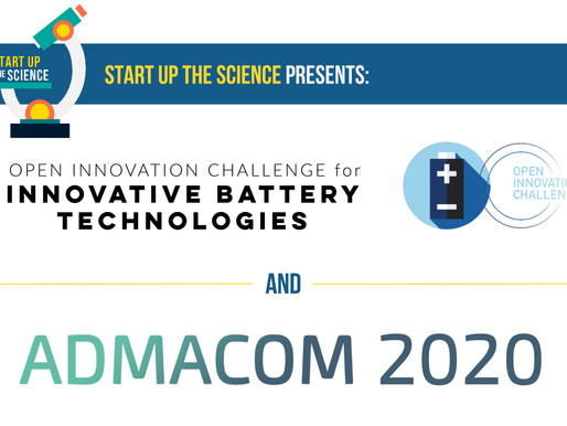 Start Up the Science Presents: Innovative Battery Challenge & AdMaCom 2020